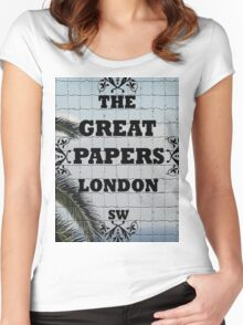 Great Papers Logo 2013 Women's Fitted Scoop T-Shirt