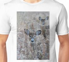 In the Meadow - White-tailed deer Unisex T-Shirt