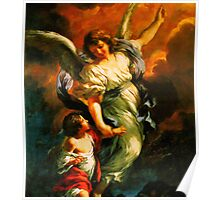 Heiliger Schutzengel Guardian Angel 4 enhanced Poster