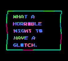 Horrible Glitchy Night by vgjunk