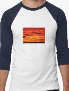 Flame Coloured Sunset Sky T-Shirt