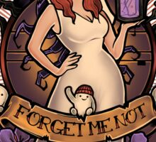Forget Me Not Sticker