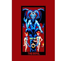 Tarot Devil Red Photographic Print