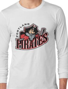 Portland Pirates Long Sleeve T-Shirt