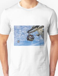 Greenwich London Cable Car  T-Shirt