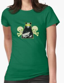 Things are looking up Mr Sunny Bear Womens Fitted T-Shirt