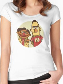 The Puppet Paradox Women's Fitted Scoop T-Shirt