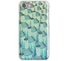 Abstract Green Glass Bottles iPhone Case/Skin