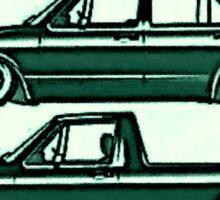 VW Golf & Caddy Sticker
