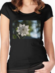 A Star in My Garden Women's Fitted Scoop T-Shirt
