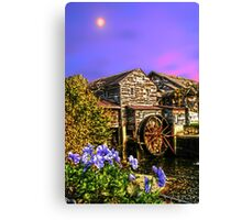 Moon Mill restaurant Pigeon Forge Canvas Print
