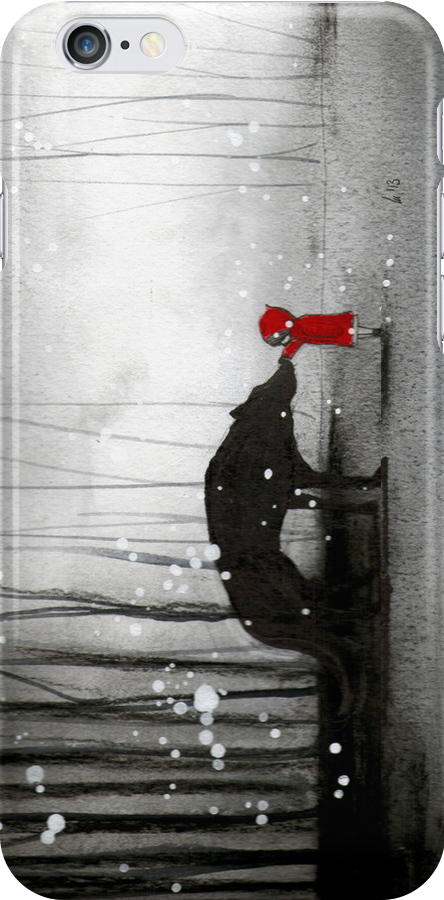 little red riding hood ~ the first touch iPhone by minoule