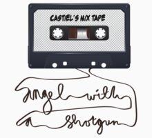 Castiel Mix Tape  T-Shirt