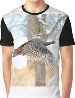As God as my Witness... Wild Turkeys can fly! Graphic T-Shirt