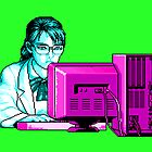 Computer Science (Blue / Purple) by vgjunk