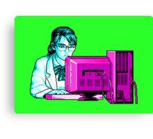 Computer Science (Blue / Purple) Canvas Print