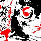 Pretty Kitty - Black White And Red Series by Betty Northcutt