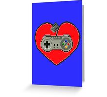 SNES Love Greeting Card