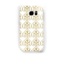 Gold art deco pattern Samsung Galaxy Case/Skin