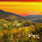 Mountain Life at Sundown by Randy & Kay Branham