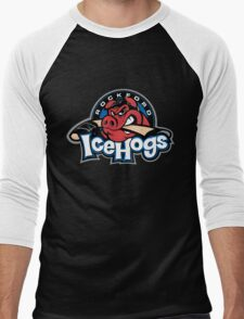 Rockford Ice Hogs Men's Baseball ¾ T-Shirt