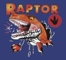 Ghost World raptor by faradaysings