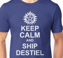 Keep Calm and Ship Destiel Shirt Unisex T-Shirt