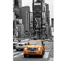 New York Taxi Photographic Print
