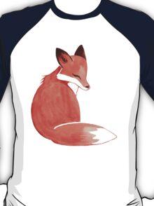 Watercolor Fox T-Shirt