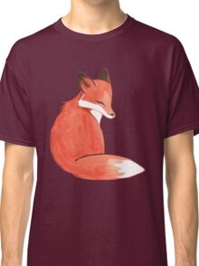 Watercolor Fox Classic T-Shirt