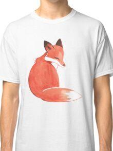 Watercolor Fox Classic T-Shirt