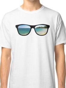Beach Scene Classic T-Shirt