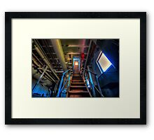 Report To The Bridge Framed Print