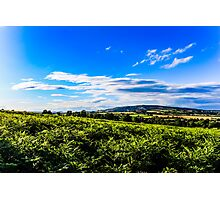 View of Brown Clee Photographic Print