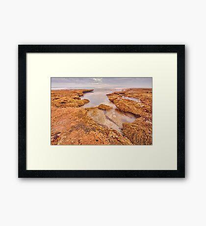 Open Rock Pool Framed Print