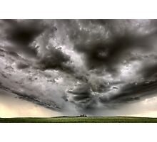 Storm Clouds Saskatchewan Photographic Print