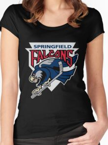 Springfield Falcons Women's Fitted Scoop T-Shirt