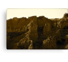 Hill Side Castles  Canvas Print