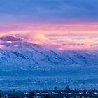 Catalina Mountains in Snow by RobTravis