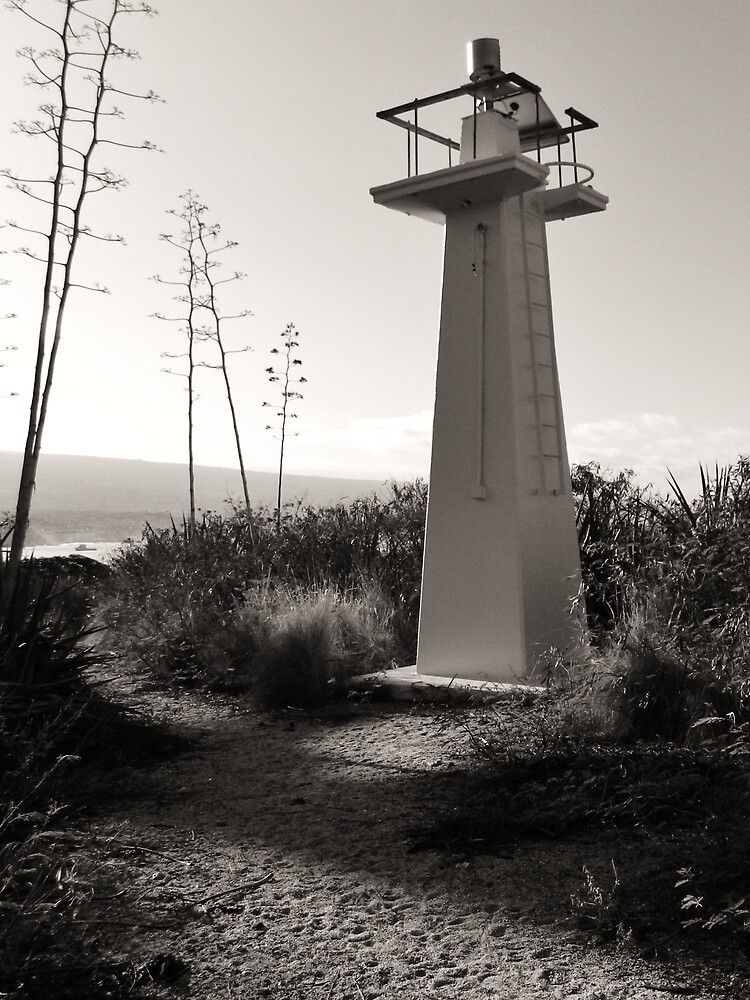 Kona Lighthouse by Randy Richards