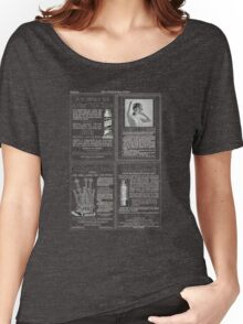 The International Studio, 1915 artists magazine advertisement page Women's Relaxed Fit T-Shirt