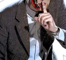 DR WHO - The Ex Terminator Sticker