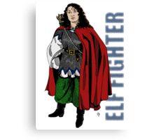 Elf Fighter  Canvas Print