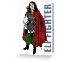 Elf Fighter  Greeting Card