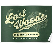 Lost Woods Moonshine Poster