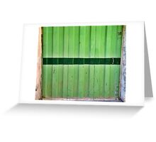 Green Grass - Chiara Conte Greeting Card