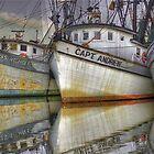 Shrimp Boats - Georgetown, South Carolina by Edith Reynolds