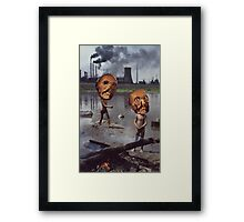 M Blackwell - Work Hazards Framed Print