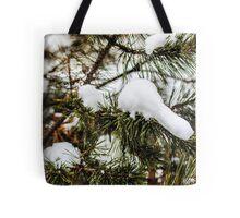 Snowy Limbs Tote Bag