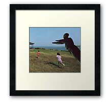 M Blackwell - Run Beckie Run! Framed Print